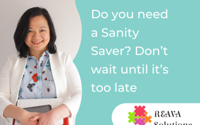 Do you need a Sanity Saver? Don't wait until it's too late