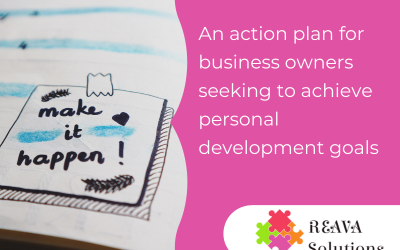 An action plan for business owners seeking to achieve personal development goals