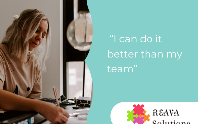 """HUGE BUSINESS MISTAKE: """"I can do it better than my team"""""""