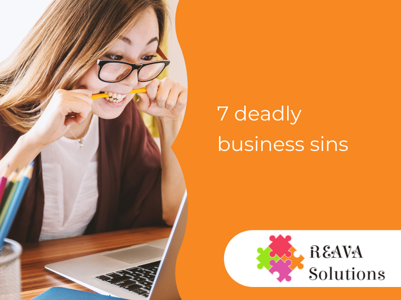 7 deadly business sins: What happens when you don't nurture your leads and clients