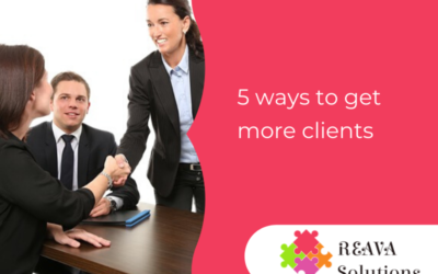 Five ways to get more clients