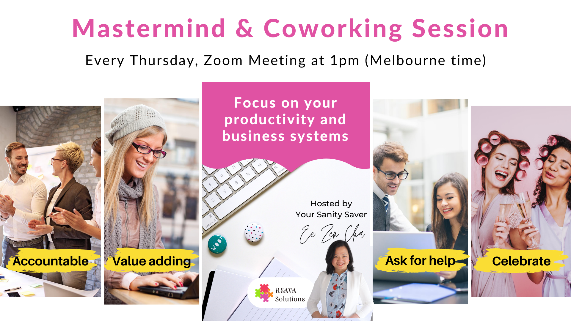 mastermind & coworking session