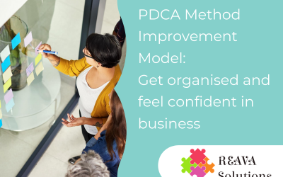 PDCA Method Improvement Model:  Get organised and feel confident in business
