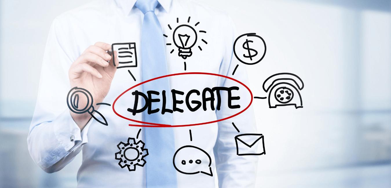 The benefits of delegation