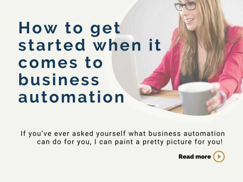 How to get started when it comes to business automation